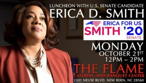 Luncheon with Erica D. Smith @ The Flame